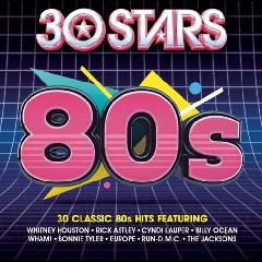 30 Stars - 80's - Various Artists (CD)