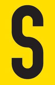 Tower Adhesive Letter Sign - Medium S