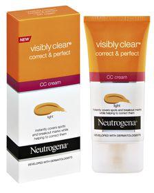 Neutrogena Visibly Clear Correct & Perfect CC Cream (Light)