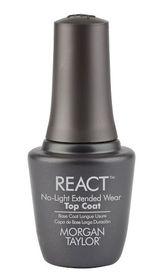 Morgan Taylor React Top Coat - 15ml
