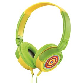Amplify Kiddies Rainbow Tunez Foldable Headphones