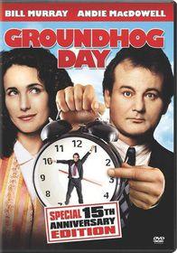 Groundhog Day 15th Anniversary Edition - (Region 1 Import DVD)
