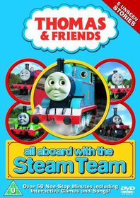 Thomas the Tank Engine and Friends: All Aboard with the Steam Team - (Import DVD)